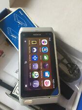 Nokia n8-00 - 16gb-Silver White (sin bloqueo SIM), Smartphone! nuevo!