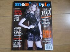 Men's Style Magazine Australia Winter 2012,Emma Booth,Ryan Gosling,Dan Carter