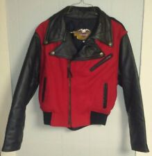 VINTAGE Harley Davidson Womens Ladies X Small Leather Jacket 1970s MINT Rare