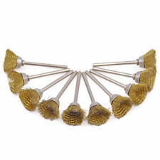 50Pcs 25mm Brass Wire Brush Cup Polishing Wheels Abrasive Tools Rotary Tools