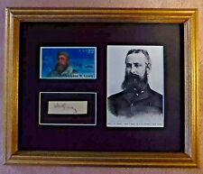 POLAR ARCTIC EXPLORER ADOLPHUS GREELY SIGNED  AUTOGRAPHED DISPLAY w/COA