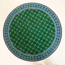 Marocain Table de Jardin En Mosaïque Pierres Bistrotisch D60cm Rond Mdadi