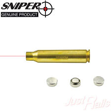 .223 Red Laser Bore Sight Boresighter for Zeroing Rifle Scope Batteries Included