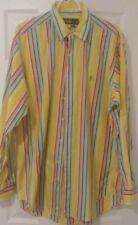 Ralph Lauren Polo Striped Dress Shirt large Shirt button down 16 1/2 Classic Fit