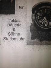 Gehäuse für Funkraumuhr  Stationsuhr, Tobias Bäuerle & Söhne
