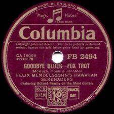 Jazz 1st Edition 78 RPM Vinyl Records