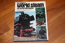 BOOK TWILIGHT OF WORLD STEAM,  HARD COVER,   GD/CD