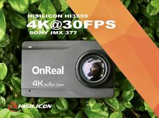 OnReal Native 4K Waterproof Action Camera w/ Image Stabilization & 2.45