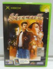 SHENMUE II 2 MICROSOFT XBOX PAL ITALIANO COMPLETO