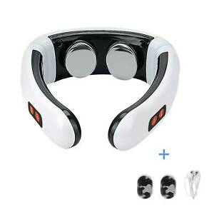 Smart Pulse Neck Massager Magnetic Therapy Physiotherapy Cervical Body Relax UK