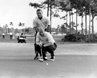 Jack Nicklaus Arnold Palmer UNSIGNED 8X10 photo