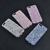 Fashion Bling Silicone Glitter ShockProof Soft Case Cover For iPhone 6 6S 7 Plus