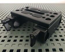 SMALLRIG Camera Tripod Mounting Baseplate for Tripod/Shoulder