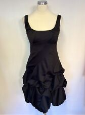 BNWT MONSOON BLACK PARACHUTE SKIRT SPECIAL OCCASION DRESS SIZE 8
