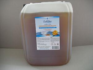 (9,20€/L) LaVita Orangenkraft Reinigungs-Konzentrat der Hobbythek 10 Liter