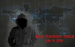 HACKING USB BOOT PRO HACKING OPERATING SYSTEM BUNDLE -1100+ TOOLS HACK ANY PC!