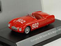 Cisitalia 202 Spyder #502 Mille Miglia 1/43 Scale 1947 Year STARLINE Diecast Car