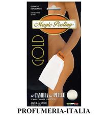 Magic Peeling Guanto Esfoliante-fibra di ginestra.Peeling meccanico corpo e viso
