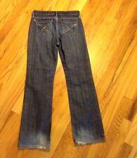 Gap Kids Jeans 10 R Girls 1969 Straight Leg Thick Stitch Stretch Jeans