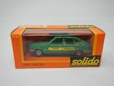 Solido Simca 1308 Taxi Green No 60