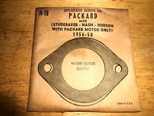 NOS Water Outlet Gasket 1956-1958 Packard with Studebaker Nash Hudson Motors H18