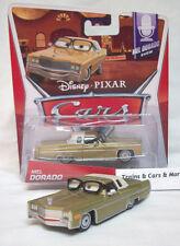 """Disney Pixar CARS 2 Movie Die Cast Metal """"Mel Dorado Show""""  MEL  DORADO  nip"""