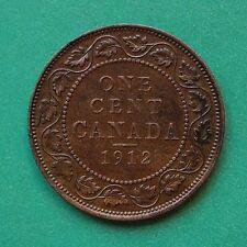 1912 Canada 1 Cent SNo09434