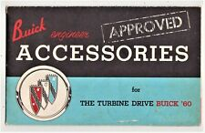 1960 Buick Approved Accessories for Turbine Drive Buick '60 Pamphlet, Rat Rod