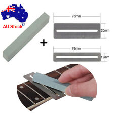 2 Guitar Fret Protector Guards & Fretwire Sander Luthier Tool for Guitar Bass
