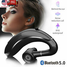 2021 Bluetooth 5.0 Headset Long Standby Earphone Ear Hook for iOs Android