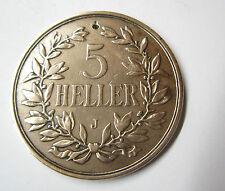 5 Heller 1909 J Deutsch Ostafrika