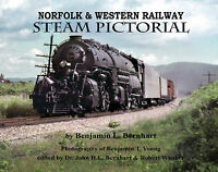 NORFOLK & WESTERN Railway STEAM Pictorial - Out of Print LAST NEW BOOK