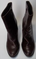 Kelly & Katie Ankle Boots Shoes Brown Womens Size 10