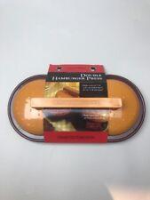 Charcoal Companion Double Hamburger Press Brand New
