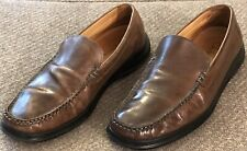 Cole Haan Mens Dress Shoes Loafers Leather Brown Size 8