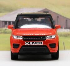 PERSONALISED PLATES Range Rover Sport Boys Toy Model Dad Car Present Boxed