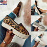 Women Platform Espadrilles Pumps Shoes Ladies Casual Loafers Sneakers Shoes Size