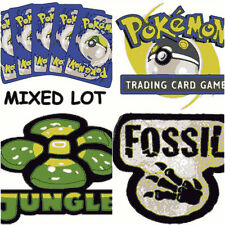 5 Pokemon Cards Base Set Jungle Fossil Mix Lot WOTC 1999 Wizards Old School Pack