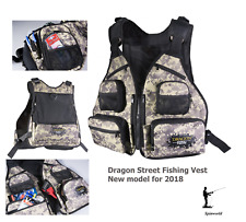 Street Fishing Techpack Vest new model for 2018 Dragon