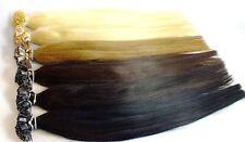 125 MECHES 1 G indis. Capelli Veri 50 cm Extensions Capelli