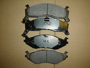 "D524 Premium Semi Metallic  Quality FRONT BRAKE PAD SET D521,D524  (14"" Wheel)"