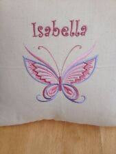 Personalised Butterfly Cushion Cover Only Any Name