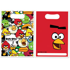 ANGRY BIRDS PARTY / LOOT BAGS PACK OF 8