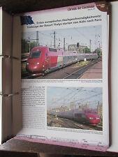 Chronik der Eisenbahn 5B: 1997 Thalys startet Köln Paris Hochgeschwindigkeitsnet