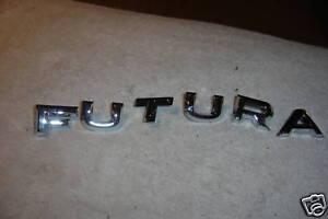 1962,1963 FORD FALCON  FUTURA  REAR TRUNK LETTERS  NEW