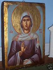 ST. MARINA HAND PAINTED GREEK  ORTHODOX ICON