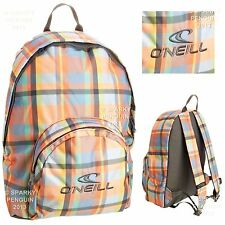 O'NEILL MULTI COLOURED WOMENS GIRLS BACKPACK RUCKSACK SCHOOL STUDENT SHOPPING