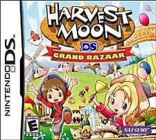 Harvest Moon: Grand Bazaar, (DS)