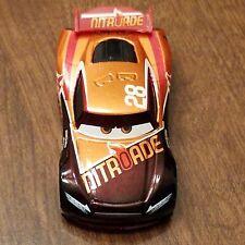 Disney Pixar World of Cars Tim Treadless Metallic Finish Nitroade #28 1:55 Loose