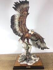 "Giuseppe Armani -24"" Flying Eagle -970S- Limited Edition figurine- Capodimonte"